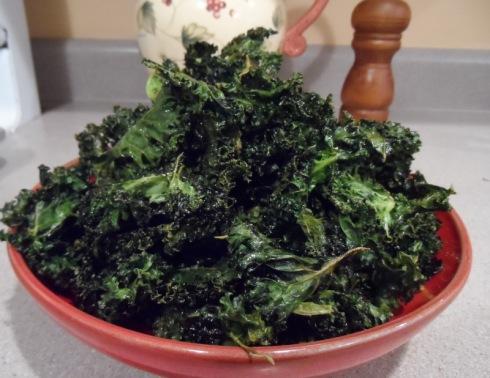 Slow & Low Kale Chips