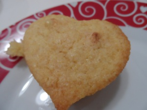 Heart Shaped Corn Bread Muffins
