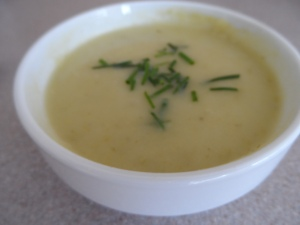 Julia's Potato Leek Soup