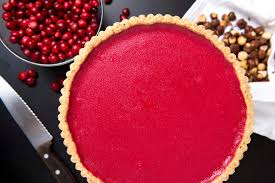 Cranberry Curd Tart from the New York Times Cooking Section